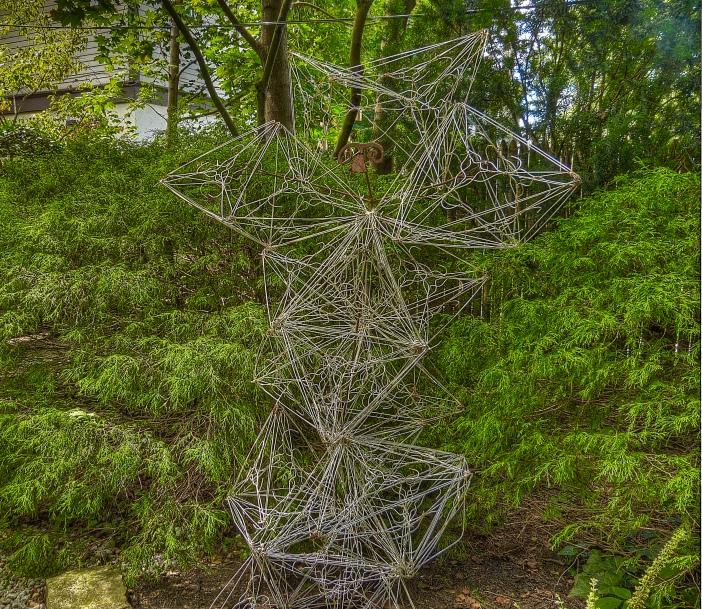 Coathanger sculpture