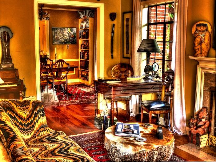 Jim's living room